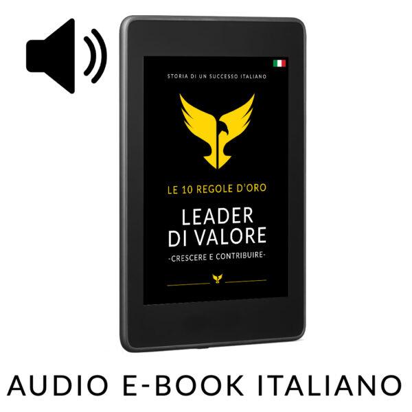 Leader di valore audio e-book italiano